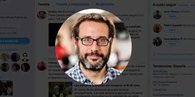 El periodista Andrés Gil, posible nuevo presidente de RTVE tras el acuerdo entre PSOE y