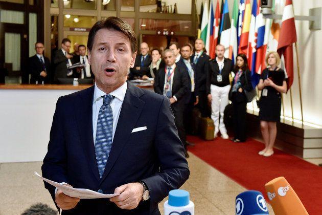 El primer ministro italiano, Giuseppe