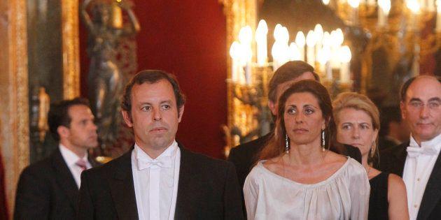 Sandro Rosell en en el Palacio