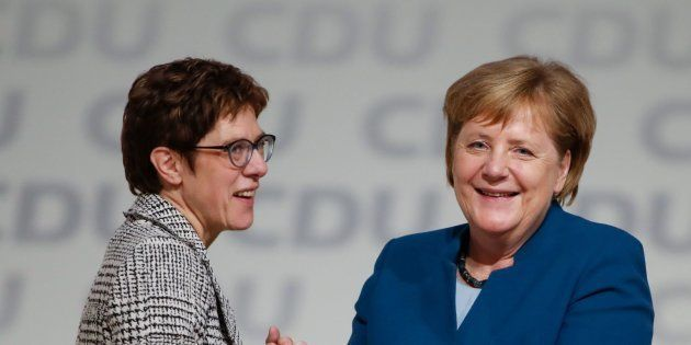Annegret Kramp-Karrenbauer y Angela
