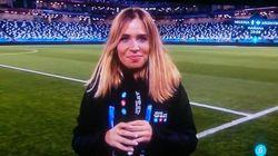 Una periodista de Telecinco estalla en directo por lo que está pasando con sus compañeras en