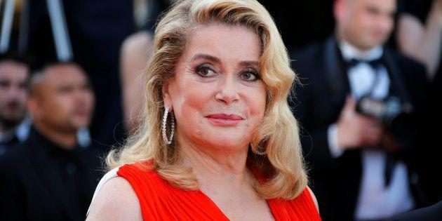 La actriz francesa Catherine Deneuve, en Cannes en mayo de