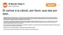 'El Mundo Today' publica la denuncia que ha recibido por uno de sus titulares y se desata el