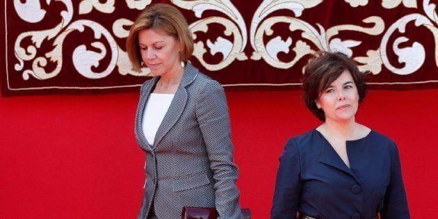 Sáenz de Santamaría y De Cospedal coinciden en algo: Sánchez quiere convertir TVE en 'La