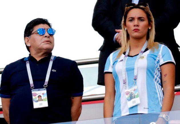 Así ha llegado Maradona al