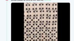 Un artista convierte 13.000 dados en un