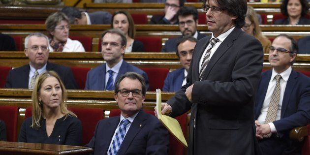 Se cumplen dos años de la investidura del Puigdemont que descartó la