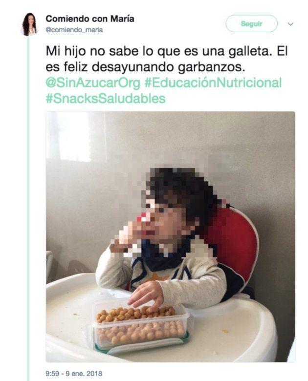 El desayuno de un niño, la última polémica en
