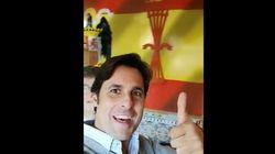 Francisco Rivera, en el bar franquista Casa Eladio: