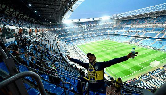 Las imágenes de la final de la Libertadores en el