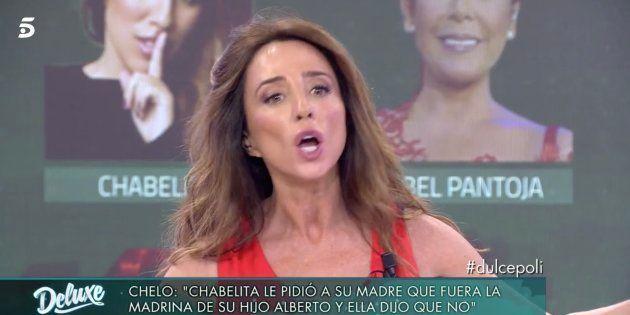 María Patiño regaña a una invitada de 'Sábado Deluxe' y desata una bronca en el