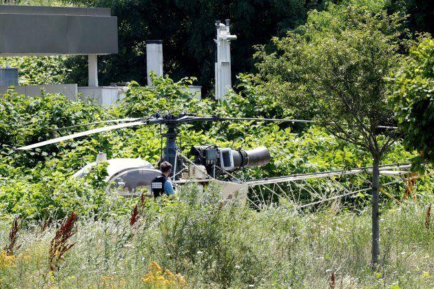 Espectacular fuga en helicóptero de uno de los presos más famosos de