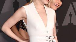 La cara que se le quedó a Jennifer Lawrence cuando Emma Stone le cambió de