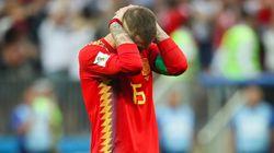 El sentido tuit de Ramos tras caer en el Mundial que se le vuelve en contra por un