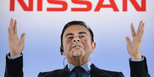 El expresidente de Nissan, Carlos Ghosn, en una imagen de