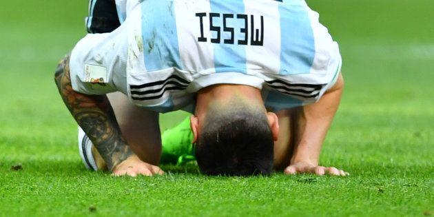 Messi, tras la eliminación de