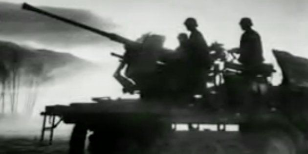 Captura del vídeo del aniversario de la independencia de Yugoslavia y