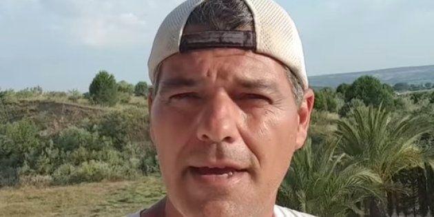 Frank Cuesta, cerca de perder un dedo por la mordedura de una