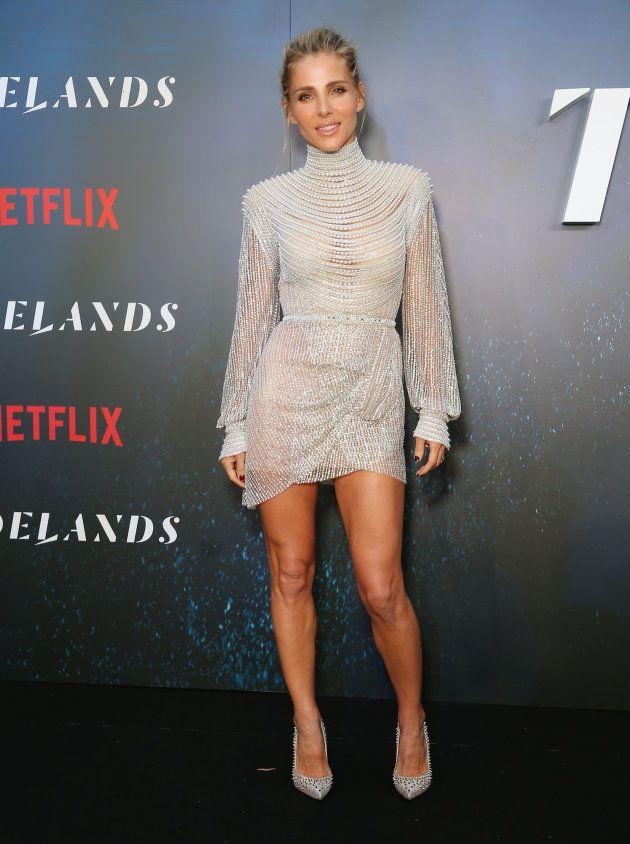La actriz Elsa Pataky, en el estreno de 'Tidelands' el 10 de diciembre de 2018 en