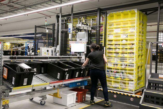 Centro logístico de Amazon en El Prat de Llobregat