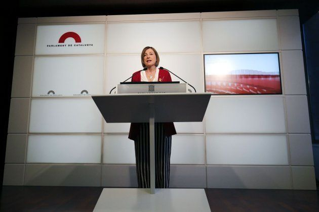 Forcadell no repetirá como presidenta del
