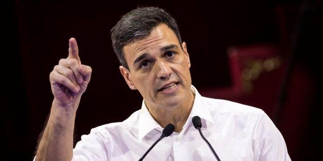 Pedro Sánchez, en una imagen de