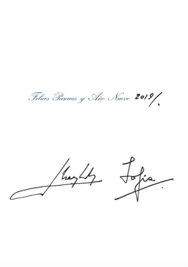 Firmas de los reyes