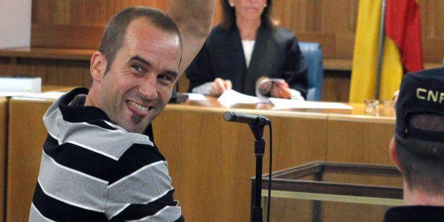 Garikoitz Aspiazu, 'Txeroki', durante un juicio celebrado en la Audiencia Nacional en