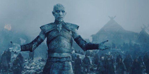 El actor que interpreta al Rey de la Noche en 'Juego de tronos' se va de la lengua y hace un 'spoiler'...