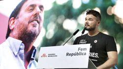 El tuit de Rufián que enciende la polémica en Twitter tras la decisión del Gobierno de trasladar a presos