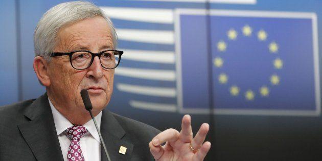 El presidente de la Comisión Europea, Jean-Claude