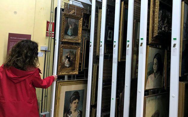 Los almacenes de la Biblioteca-Museo Víctor Balaguer albergan el 80% de su