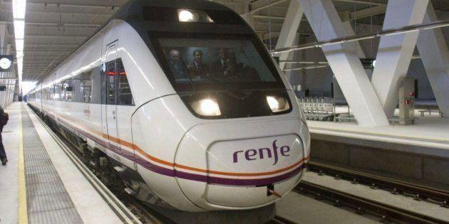 Imagen de archivo de uno de los trenes de
