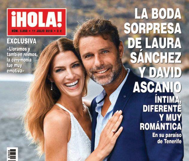 Laura Sánchez y David Ascanio se casan por sorpresa en