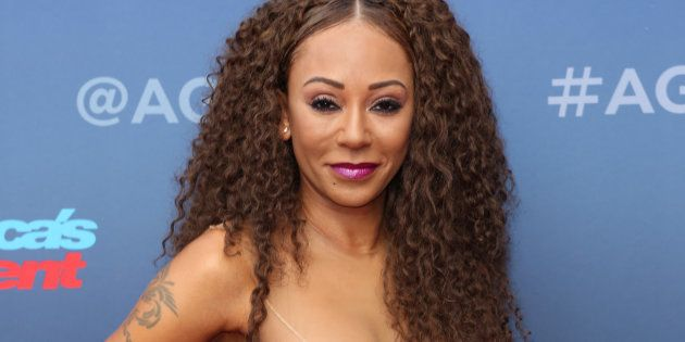 La cantante Mel B, en un evento en California el 12 de marzo de