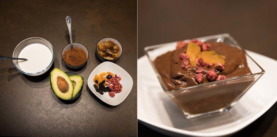 Mousse rápida de cacao, receta de 'La Gloria