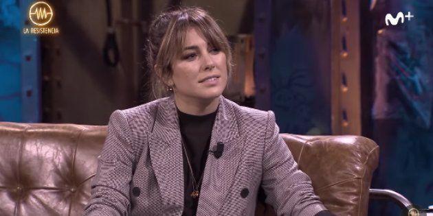 Blanca Suárez en 'La Resistencia' (Movistar