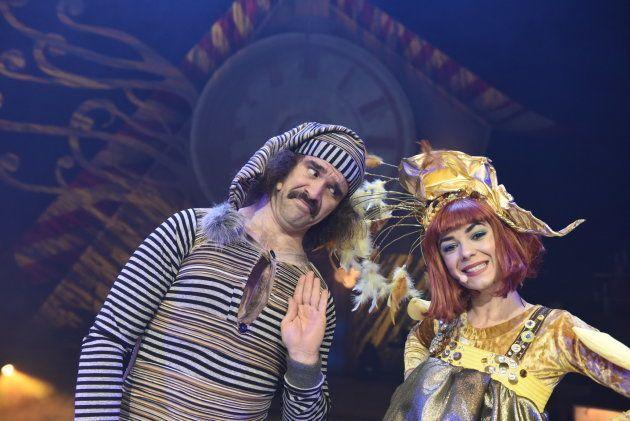 Víctor Ortiz Wilbur y Carla Pulpón en Circo Price en