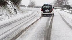 La DGT alerta de que la nieve puede afectar de nuevo a la AP-6 y a la