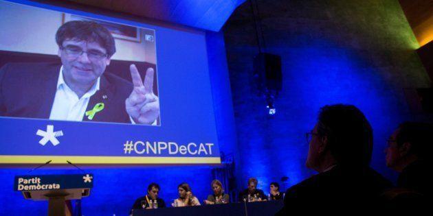 Puigdemont reclama cumplir el mandato de las urnas mientras ERC le pide