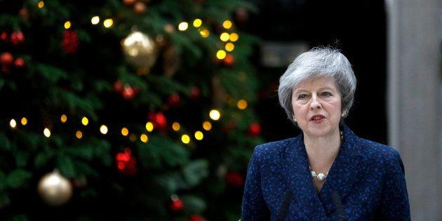 La primera ministra británica, Theresa