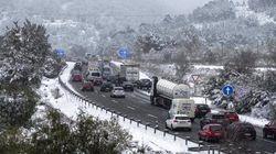 Las temperaturas se desploman y llega la nieve a cotas