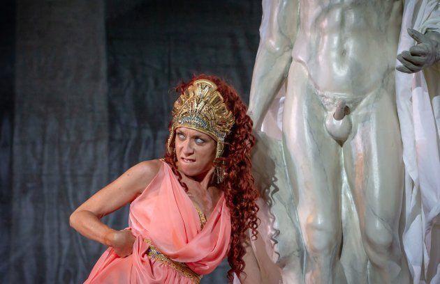 Eva Isanta en Ben-Hur de
