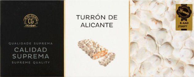Turrón de Alicante del Club del