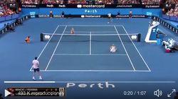 La polémica y comentada escena en este partido de Roger