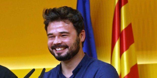 Rufián asegura que en España