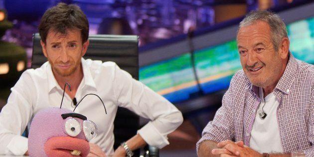 Pablo Motos y Karlos Arguiñano, en 'El Hormiguero' (Antena