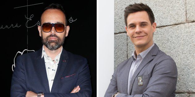 Los presentadores Risto Mejide y Christian