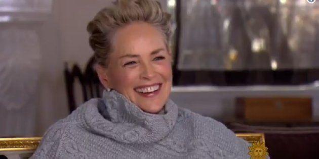 La respuesta de Sharon Stone cuando le preguntan si ha sufrido acoso: una