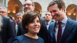 Santamaría gana la primera vuelta de las primarias del PP y Casado queda en segunda